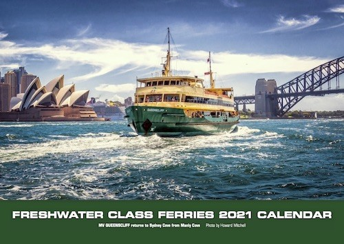 Manly Ferry Calendar Photos